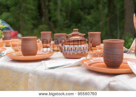 Table In The Forest