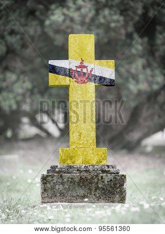 Gravestone In The Cemetery - Brunei