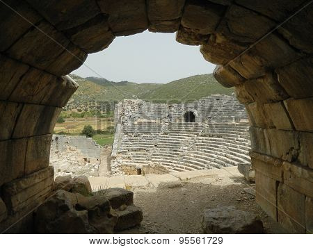 Amphitheater at Patara