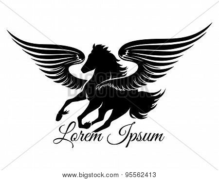 Winged Stallion Logo