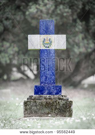 Gravestone In The Cemetery - Salvador