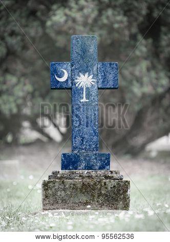 Gravestone In The Cemetery - South Carolina