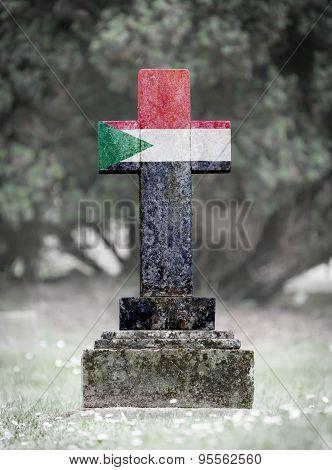 Gravestone In The Cemetery - Sudan