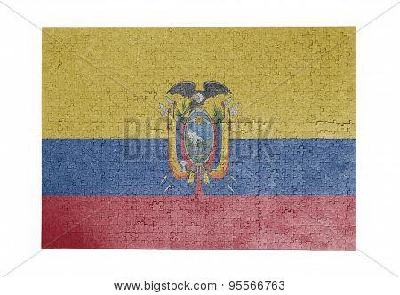 Large Jigsaw Puzzle Of 1000 Pieces - Ecuador