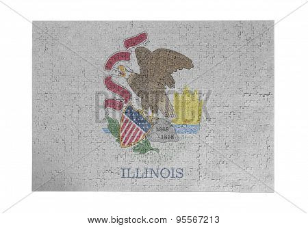 Large Jigsaw Puzzle Of 1000 Pieces - Illinois
