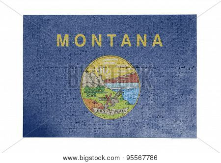 Large Jigsaw Puzzle Of 1000 Pieces - Montana