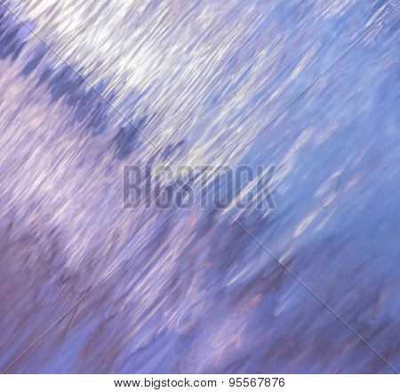 Abstract Background Of Blurred Water Surface
