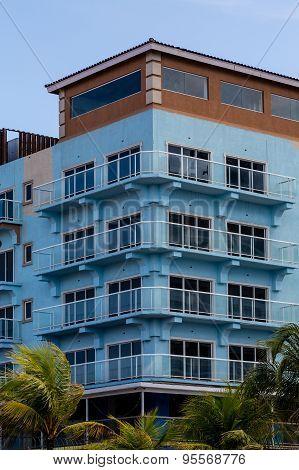 New Blue Condo Construction