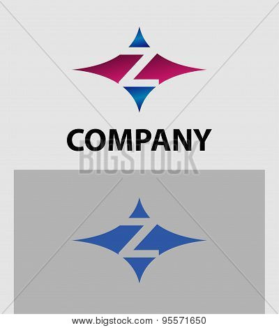 Letter Z Logo. Abstract icons based on the letter Z logo