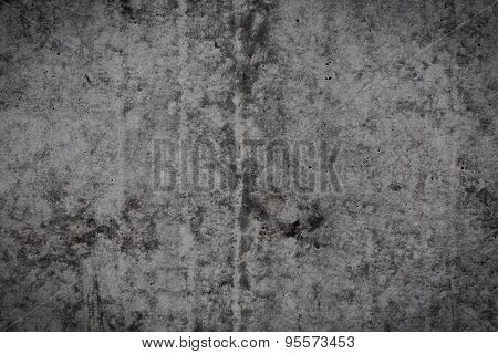 Grungy Concrete Wall For Background