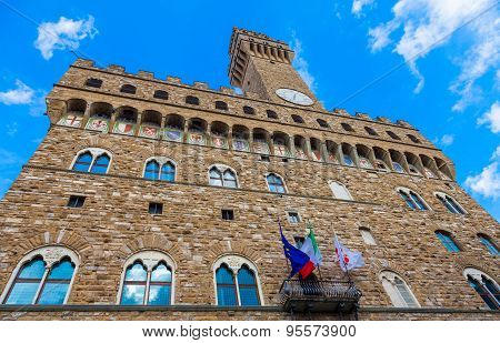 Palazzo Vecchio (old Palace) In Florence
