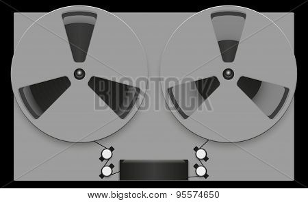reel tape recorder