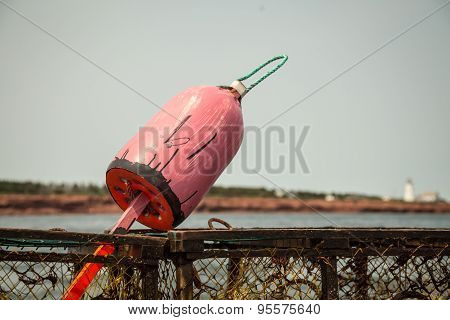lobster fishing buoy