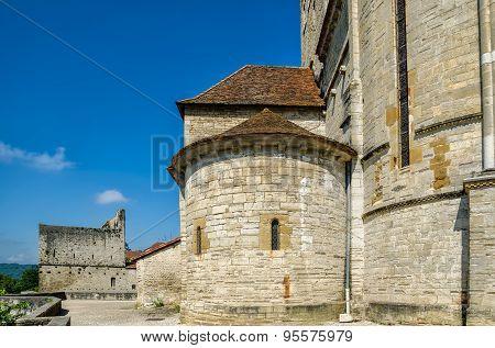 St Andrew's church, Sauveterre-de-Bearn.