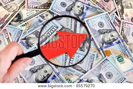 Dollar Grow Concept