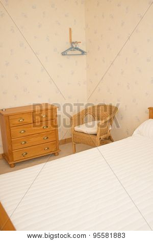 Double Divan Bed In A Light Spacious Upmarket Modern Bedroom