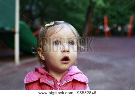 Little Surprised Girl