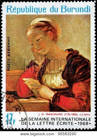 Fragonard Stamp