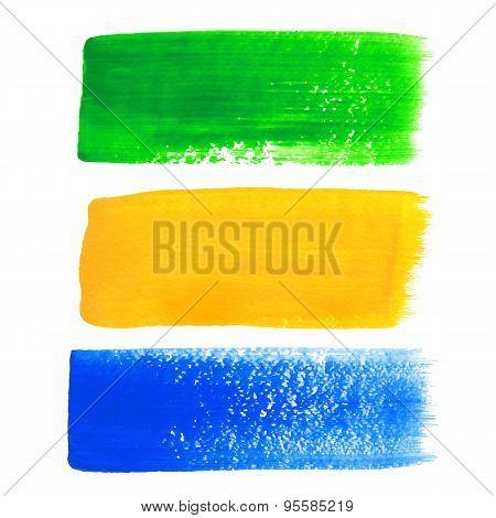 Brazil acrylic banners