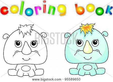 Funny And Cute Rhino
