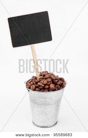 Pointer, Price In Bucket Of  Coffee  Grains