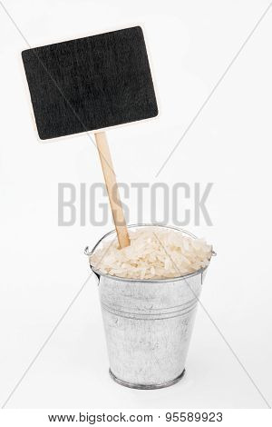 Pointer, Price In Bucket Of  Rice Grains