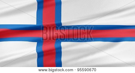 Faroe Islands Flag.