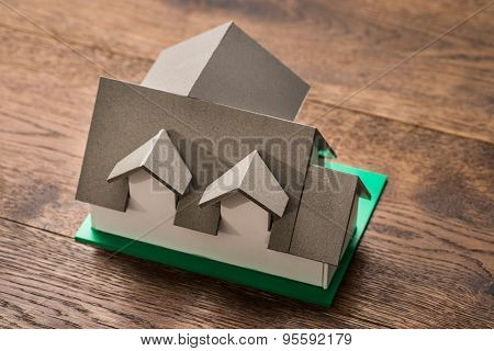House Model On Table