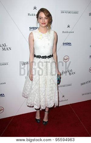 LOS ANGELES - JUL 9:  Emma Stone at the