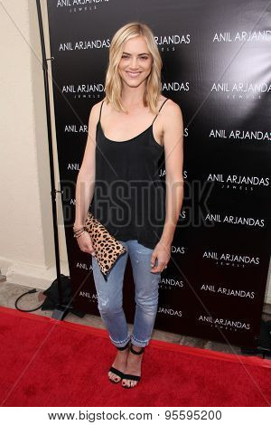 vLOS ANGELES - JUL 1:  Emily Wickersham at the Anil Arjandas Jewels Store Opening at the Anil Arjandas Jewels on July 1, 2015 in West Hollywood, CA
