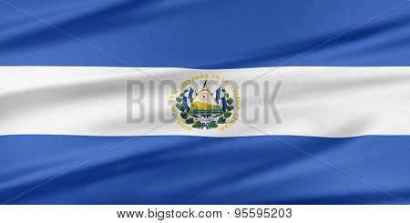 El Salvador Flag.