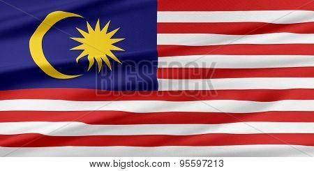 Malaysia Flag.