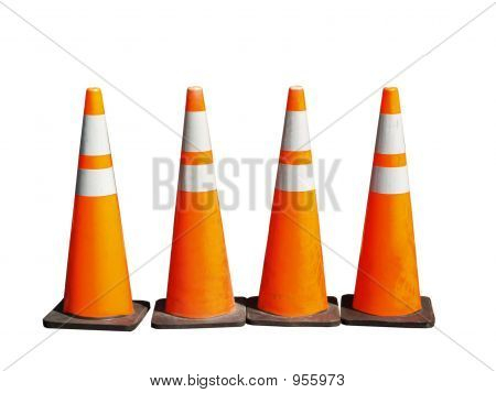 Traffic Cones Four
