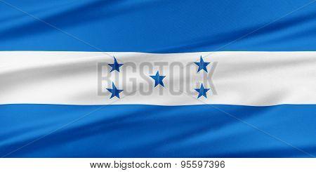 Honduras Flag.