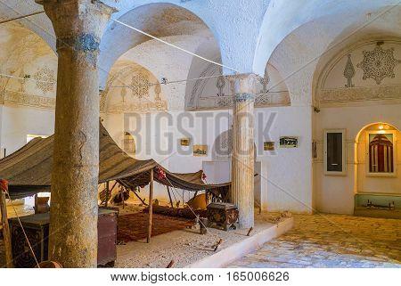 The Bedouin Hut In El Kef Museum