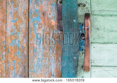 Old rough weathered wood texture. High resolution