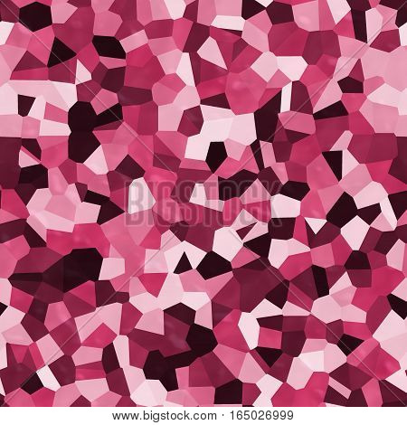 Burgundy red abstract mixed polygonal seamless texture