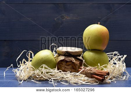 Nuts, Apples And Cinnamon