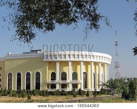 Conservatory in Tashkent Uzbekistan September 6 2007