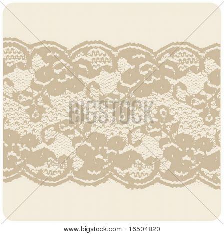 beige lace