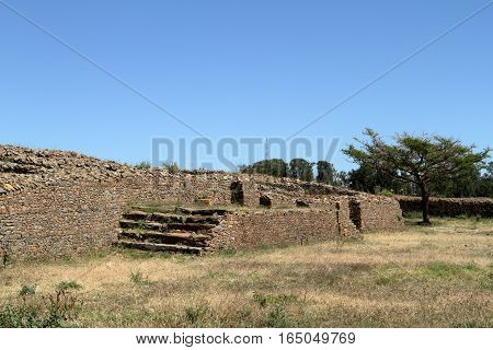 The Dungur Palace of Aksum in Ethiopia