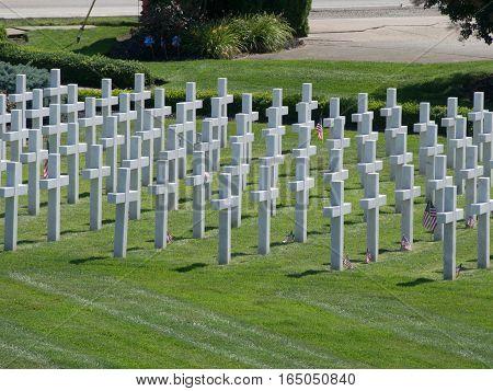 Ohio Memorial Cemetary recognizing those fallen due to war on terrorism