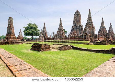 Wat Chaiwatthanaram Ancient Buddhist Temple