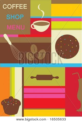 coffee shop menu design
