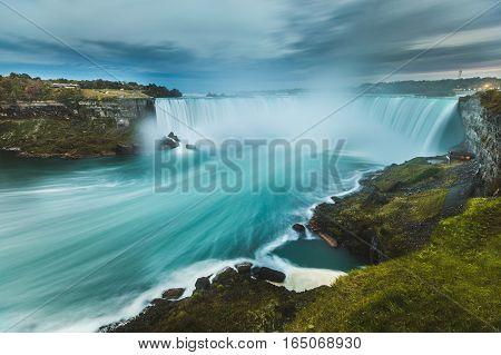 Niagara Falls Panoramic View, Long Exposure