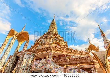 Wat Phra That Pha Son Kaew Temple At Khao Khor