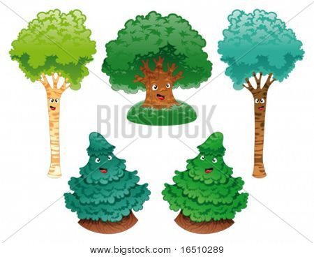 Family of trees