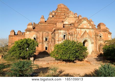 Dhammayangyi temple at the archaeological site of Bagan on Myanmar