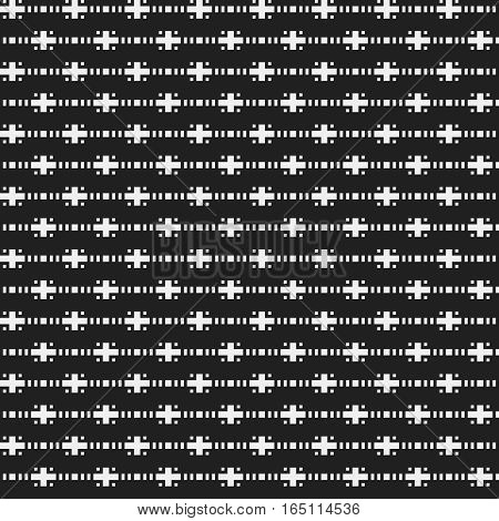 Strict Seamless Pattern In Corporate Style. Useful For Web Backgrounds, Textile Or Interior Design.