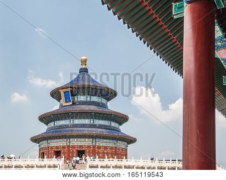 The Temple of Heaven in Beijing (China)